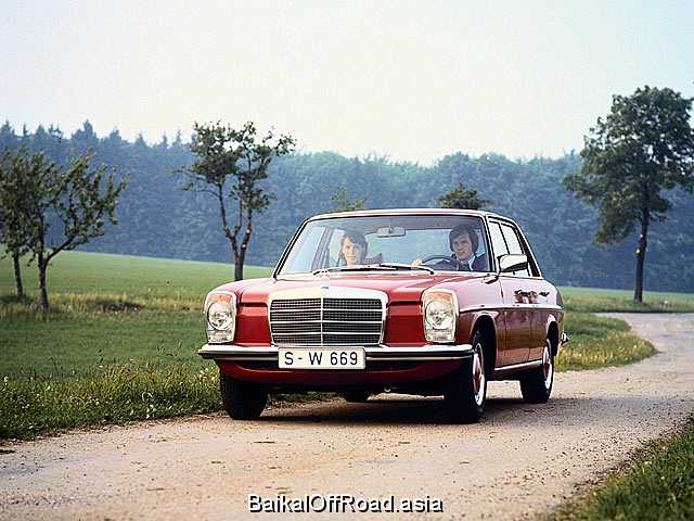 Mercedes-Benz W115 220  (105Hp) (Механика)