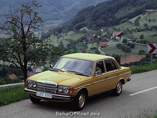 Mercedes-Benz W123 300 D Turbo (123Hp) (Механика)