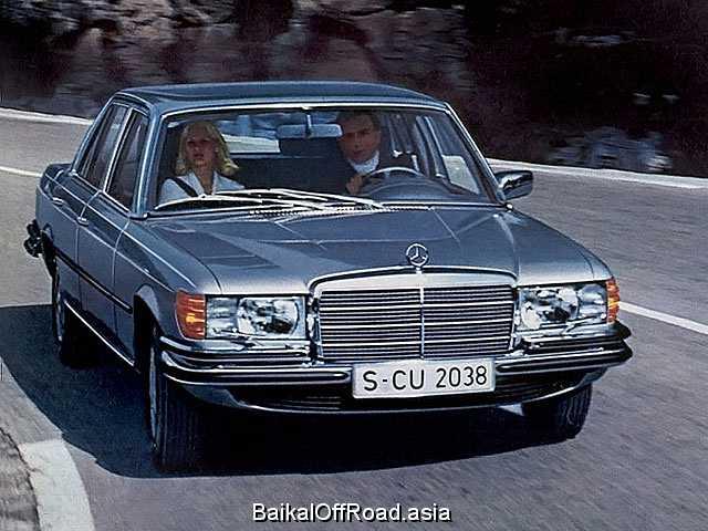 Mercedes-Benz S-Class 280 SE,SEL  (185Hp) (Механика)