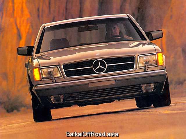 Mercedes-Benz S-Class Coupe 560 SEC  (300Hp) (Механика)