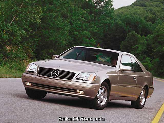 Mercedes-Benz CL-Class CL 600  (394Hp) (Автомат)