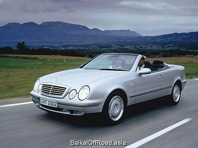 Mercedes-Benz CLK-Class Cabriolet CLK 200 Kompressor Cabriolet (163Hp) (Автомат)