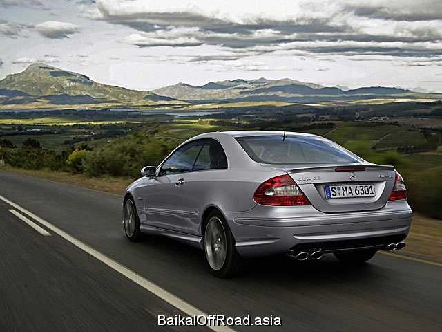 Mercedes-Benz CLK-Class CLK 55 AMG 5.4 V8 24V (367Hp) (Автомат)