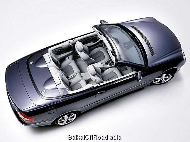 Mercedes-Benz CLK-Class Cabriolet CLK 220 CDI (150Hp) (Механика)