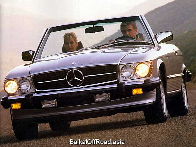 Mercedes-Benz SL-Class Coupe 280 SLC  (177Hp) (Механика)