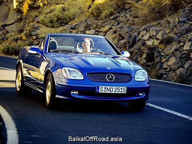 Mercedes-Benz SLK-Class SLK 200 Kompressor (163Hp) (Механика)
