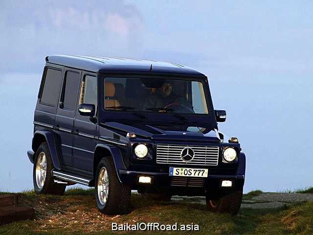 Mercedes-Benz G-Class G 500 (3 dr) (296Hp) (Автомат)